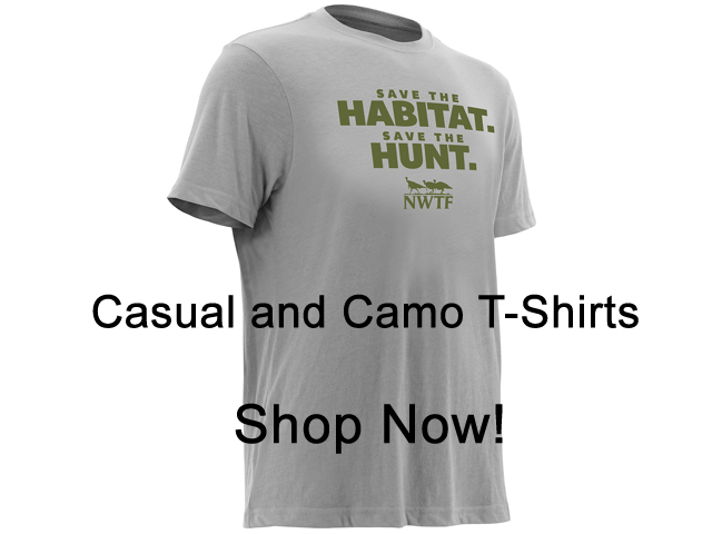 Causal and Camo T-Shirts